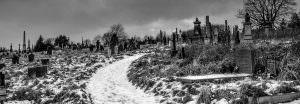 undercliffe cemetery snow