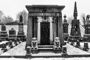 undercliffe cemetery snow