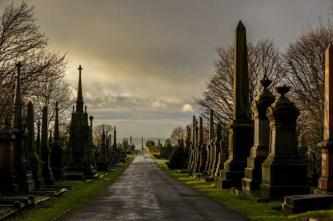 undercliffe cemetery skyline