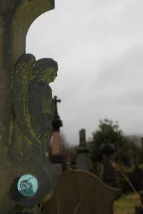 undercliffe cemetery graves angel