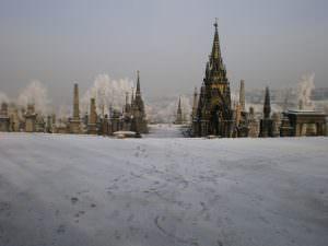 Bradford Heritage Undercliffe Cemetery snow