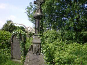Undercliffe Cemetery Bradford grave