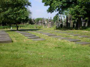 Undercliffe Cemetery stones
