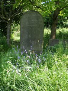 Undercliffe Cemetery gravestone